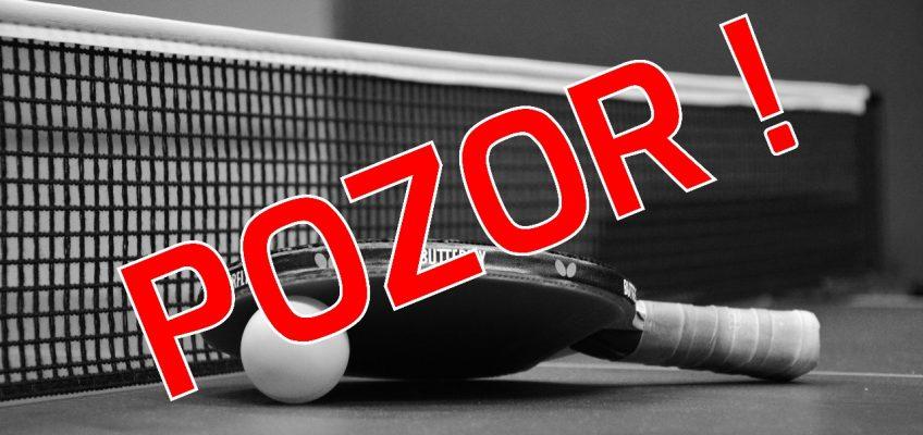Tenisový turnaj odložen!!!