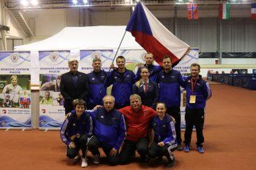 Milan Bořík jako trenér úspěšné policejní reprezentace