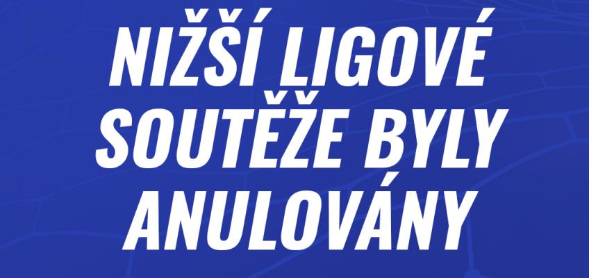 Ligové soutěže ZRUŠENY!